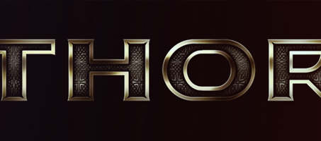 Create a Thor-inspired text effect