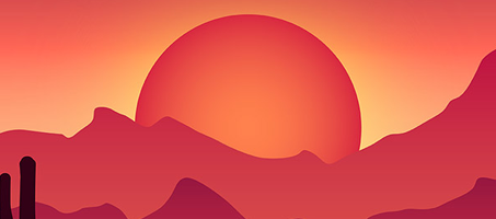 How To Create a Colorful Vector Landscape