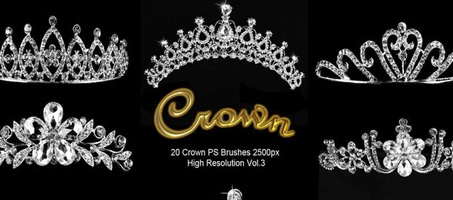 20 Crown Brushes