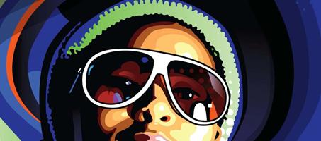 Create stylish vector portraits