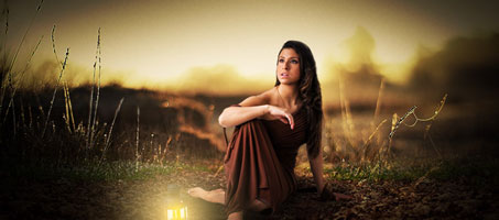 Photo Manipulation with color and Background