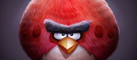 Make your own angry bird fan art with photoshop