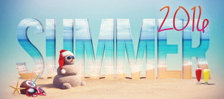 3D Summer Text Effect